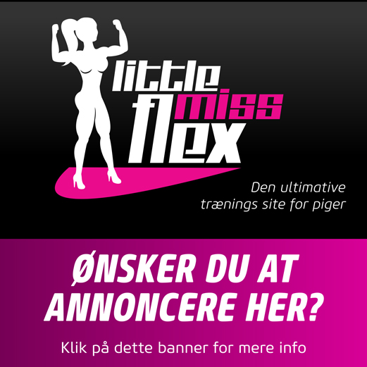 Klik her for at læse mere om annoncering på littlemissflex.com